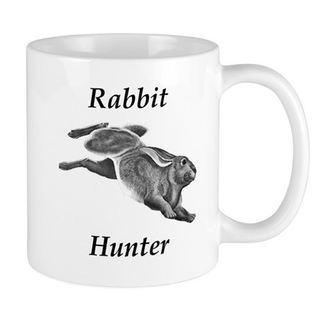 Rabbit hunter mug