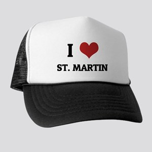 I Love St. Martin Trucker Hat