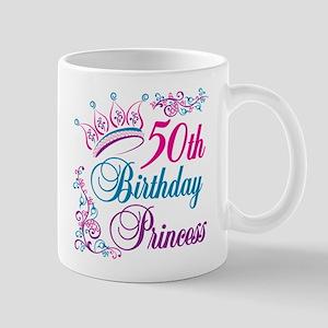 50th Birthday Princess Mug