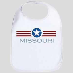 Star Stripes Missouri Bib