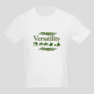 Versatility in green Kids Light T-Shirt