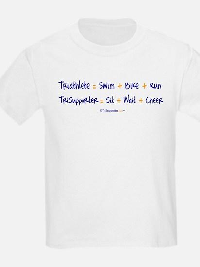 Triathlete vs. TriSupporter T-Shirt