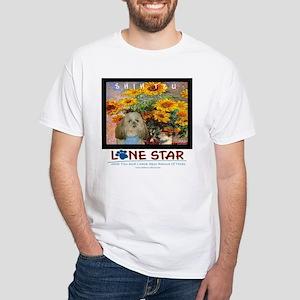 Lone Star White T-Shirt