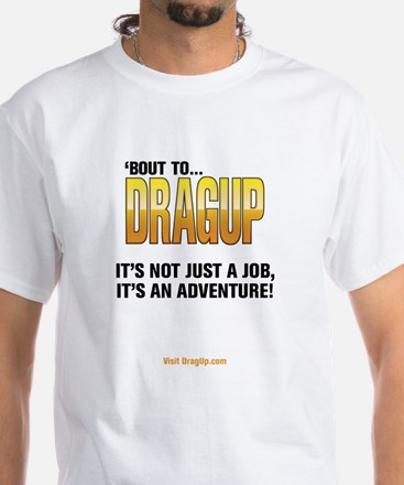 DragUp Adventure White T-Shirt