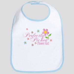 Perfectly Picked Flower Girl Classic Bib
