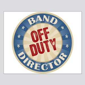 Off Duty Band Director Small Poster