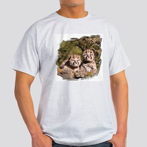 Cougar Kitten Ash Grey T-Shirt