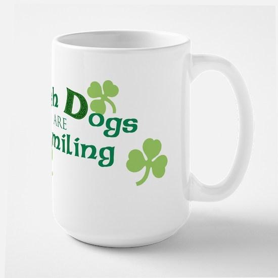 St. Patrick Irish Red and White Large Mug