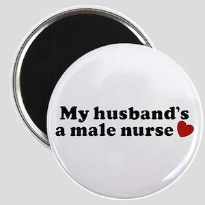 My Husband's a Male Nurse Magnet
