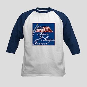Stars & Stripes Forever - Kids Baseball Jersey