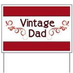 Vintage Dad Yard Sign