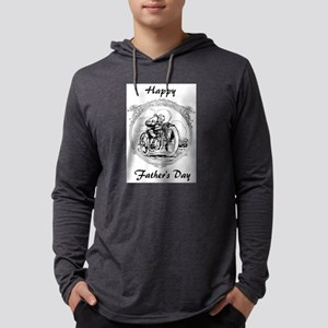 Vintage Father's Day Motorcycle Long Sleeve T-Shir