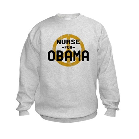 Nurse for Obama Kids Sweatshirt