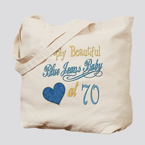 Blue Jeans 70th Tote Bag