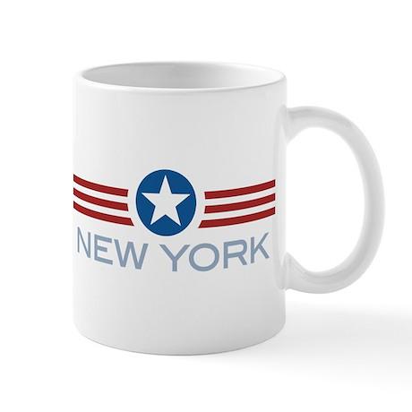 Star Stripes New York Mug