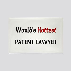 World's Hottest Patent Lawyer Rectangle Magnet