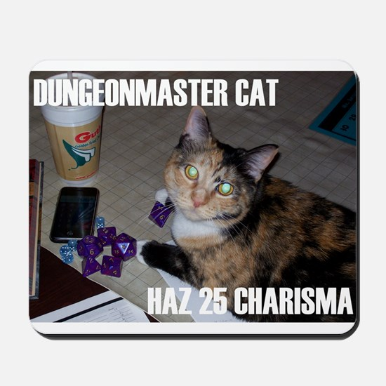 Dungeonmaster Cat Mousepad
