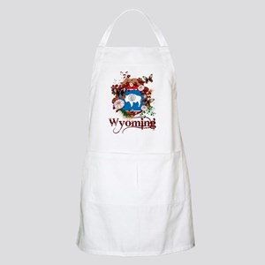 Butterfly Wyoming BBQ Apron