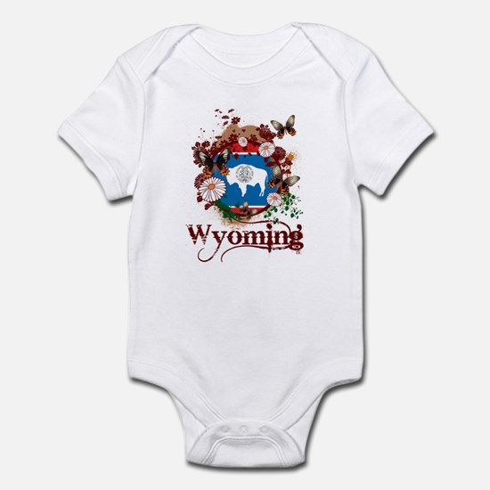 Butterfly Wyoming Infant Bodysuit