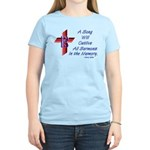 Song/Sermon Alto Clef Women's Light T-Shirt