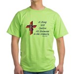 Song/Sermon Alto Clef Green T-Shirt