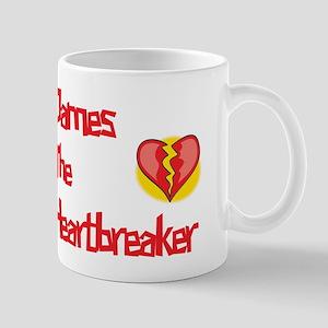 James the Heartbreaker Mug