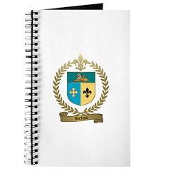 BELOU Family Crest Journal