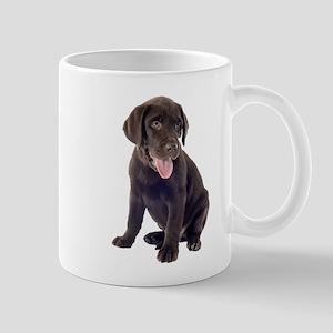 Chocolate, Lab, puppy Mugs