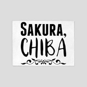Sakura, Chiba 5'x7'Area Rug