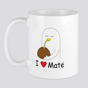 I Love Mate Mug Mugs