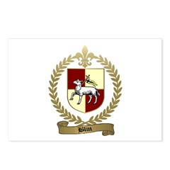 BLIN Family Crest Postcards (Package of 8)