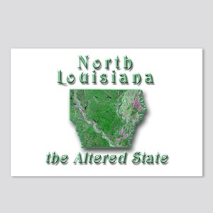 Louisiana the Altered State Postcards (Package of
