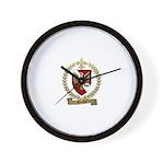Blondel Family Crest Wall Clock