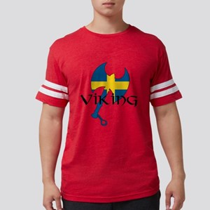 Swedish Viking Mens Football Shirt
