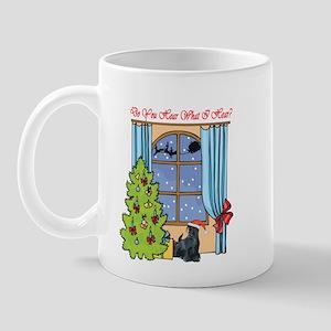 Scottie Christmas Mug
