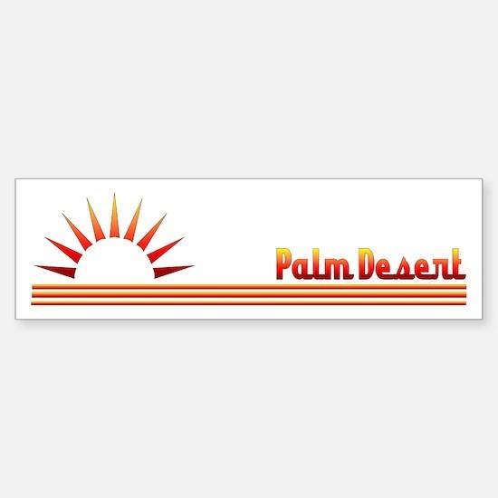 Palm Desert Bumper Bumper Bumper Sticker