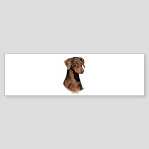 Dobermann 9Y381D-162 Sticker (Bumper)