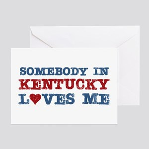 Somebody in Kentucky Loves Me Greeting Card