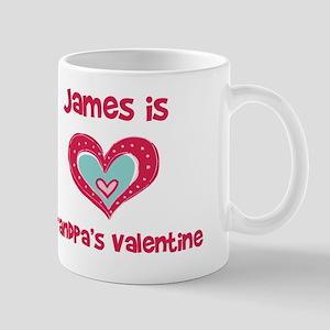 James is Grandpa's Valentine Mug