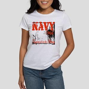 Navy Wife Toughest Job Women's T-Shirt