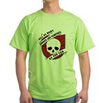 Kill As Many Zombies And Vamp Green T-Shirt