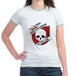 Kill As Many Zombies And Vamp Jr. Ringer T-Shirt