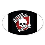 Kill As Many Zombies And Vamp Oval Sticker (50 pk)