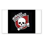 Kill As Many Zombies And Vamp Rectangle Sticker 1