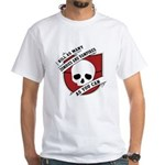 Kill As Many Zombies And Vamp White T-Shirt