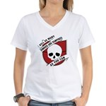 Kill As Many Zombies And Vamp Women's V-Neck T-Shi