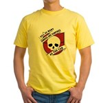 Kill As Many Zombies And Vamp Yellow T-Shirt