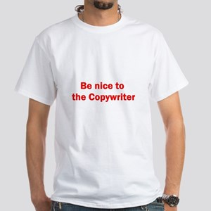 Copywriter White T-Shirt