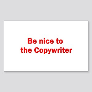Copywriter Rectangle Sticker 10 pk)