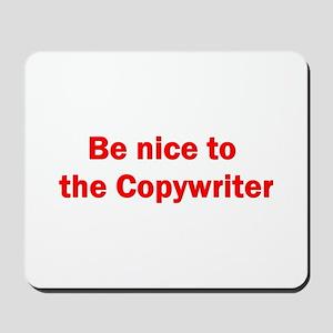 Copywriter Mousepad